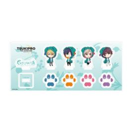 きゃらふぉるむ TSUKIPRO THE ANIMATION ミニアクリルフィギュアセット【Growth】いぬパーカーver.