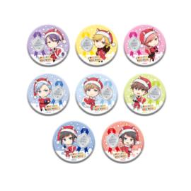 きゃらふぉるむ TSUKIPRO THE ANIMATION 缶バッジコレクション【りすサンタver.】