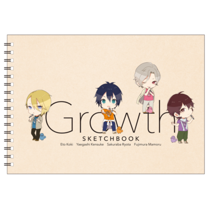 TSUKIPRO THE ANIMATION スケッチブック Growth
