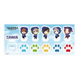 きゃらふぉるむ TSUKIPRO THE ANIMATION ミニアクリルフィギュアセット 【SOARA】いぬパーカーver.