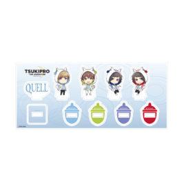 きゃらふぉるむ TSUKIPRO THE ANIMATION ミニアクリルフィギュアセット 【QUELL】りすパーカーver.